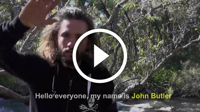 John Butler: Frack Off! Concert Launch