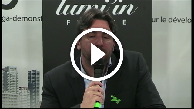 PITCH Lum'in – Laurent SAUREL – Responsable export