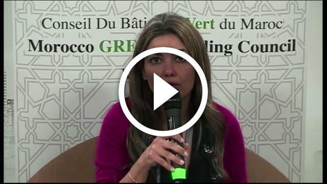 PITCH Morocco GBC – Housna MEDAGHRI ALAOUI – Responsable observatoire construction durable