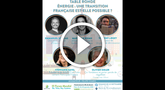 Low Carbon City – TR Energie – 23.12.2018 – Mairie de Paris 4e